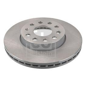 Bremsscheibe Bremsscheibendicke: 24mm, Ø: 276,0mm mit OEM-Nummer 2Q0 615 301H