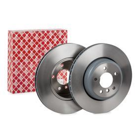 Bremsscheibe Bremsscheibendicke: 24mm, Ø: 345,0mm mit OEM-Nummer 3421 6 763 827