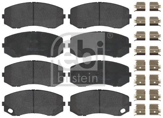 FEBI BILSTEIN  16950 Bremsbelagsatz, Scheibenbremse Breite: 58,7mm, Dicke/Stärke 1: 19,4mm