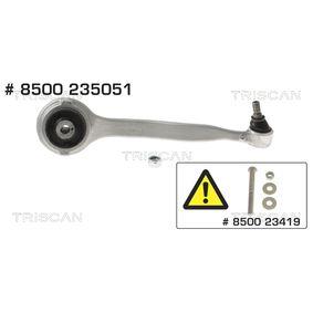 Barra oscilante, suspensión de ruedas Long.: 343,5mm, Medida cónica: 16,2mm con OEM número 2043308811