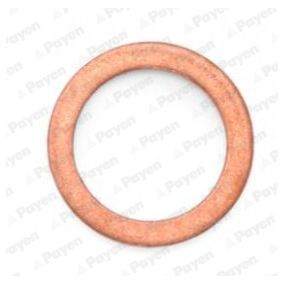 Seal, oil drain plug Ø: 17,00mm, Thickness: 1,5mm, Inner Diameter: 12,00mm with OEM Number 0376.64