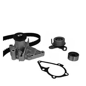 Water pump and timing belt kit with OEM Number 25100 26902