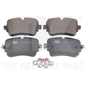 Brake Pad Set, disc brake Width 1: 65,3mm, Height 1: 129mm, Thickness 1: 16,3mm with OEM Number 4M0698451P