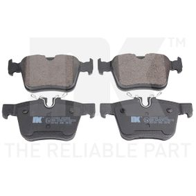 Brake Pad Set, disc brake Width 1: 59,8mm, Width 2 [mm]: 56,1mm, Height 1: 122,4mm, Height 2: 122,4mm, Thickness 1: 15,4mm with OEM Number LR-090707