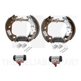 Brake Set, drum brakes 442366901 PUNTO (188) 1.2 16V 80 MY 2004