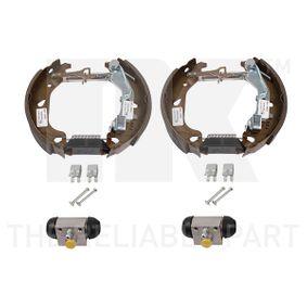 Brake Set, drum brakes 442366902 PUNTO (188) 1.2 16V 80 MY 2006