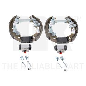 Brake Set, drum brakes 442368001 PUNTO (188) 1.2 16V 80 MY 2000