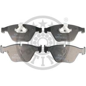 Bremsbelagsatz, Scheibenbremse Breite: 155,1mm, Höhe: 68,3mm, Dicke/Stärke: 20,3mm mit OEM-Nummer 34116794916