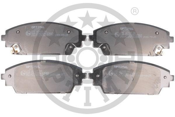 Brake Pads 12713 OPTIMAL 28877 original quality