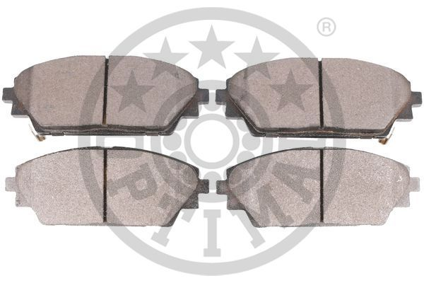Disk brake pads OPTIMAL 25876 rating