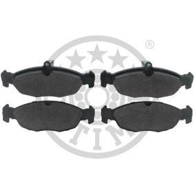 Bremsbelagsatz, Scheibenbremse Breite: 184,1mm, Höhe: 75mm, Dicke/Stärke: 20,7mm mit OEM-Nummer A447 420 00 20