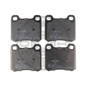 Bremsbelagsatz, Scheibenbremse Breite: 54,3mm, Dicke/Stärke: 13,5mm mit OEM-Nummer A00 142 00120