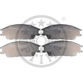 Bremsbelagsatz, Scheibenbremse Breite: 49mm, Dicke/Stärke: 14,4mm mit OEM-Nummer 5810124B00