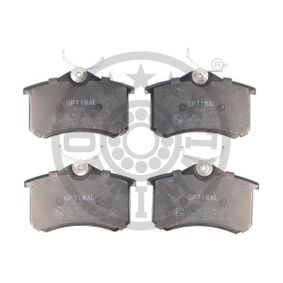 Bremsbelagsatz, Scheibenbremse Breite: 52,8mm, Dicke/Stärke: 15,2mm mit OEM-Nummer 1E0 698 451