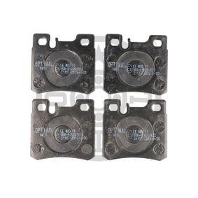 Bremsbelagsatz, Scheibenbremse Breite: 58,3mm, Dicke/Stärke: 15mm mit OEM-Nummer 0054201720