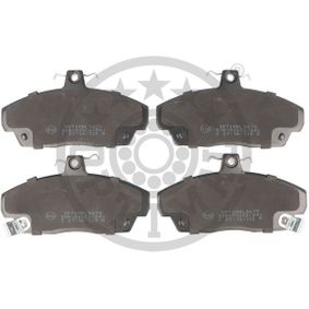 Brake Pad Set, disc brake Width: 68,6mm, Thickness: 18mm with OEM Number 45022SK3E00