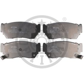 Bremsbelagsatz, Scheibenbremse Breite: 47,4mm, Dicke/Stärke: 15,7mm mit OEM-Nummer 41060-50Y90