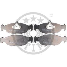Комплект спирачно феродо, дискови спирачки BP-09771 Corsa B Хечбек (S93) 1.4i 16V (F08, F68, M68) Г.П. 1998