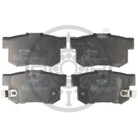 Brake Pad Set, disc brake Width: 47,5mm, Thickness: 14,6mm with OEM Number 43022-S9A-E52