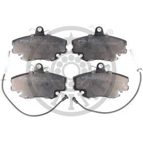 Bremsbelagsatz, Scheibenbremse Breite: 64,6mm, Dicke/Stärke: 17,4mm mit OEM-Nummer 7701201773