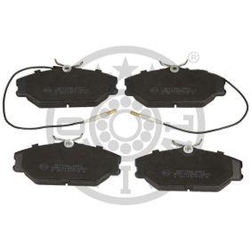 Bremsbelagsatz, Scheibenbremse Breite: 55,5mm, Dicke/Stärke: 18,3mm mit OEM-Nummer 77 01 203 070
