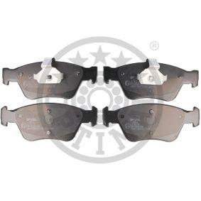 Bremsbelagsatz, Scheibenbremse Breite 1: 59,79mm, Breite: 66,04mm, Dicke/Stärke: 19,8mm mit OEM-Nummer A 002 420 44 20