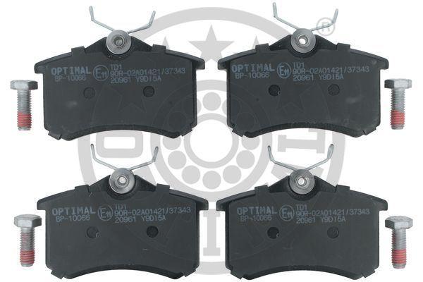 Bremsbeläge BP-10066 OPTIMAL 20961 in Original Qualität