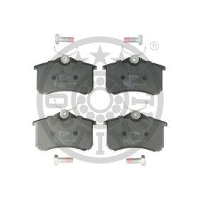 Jogo de pastilhas para travão de disco Largura: 52,8mm, Espessura: 15,2mm com códigos OEM 1H0 615 415