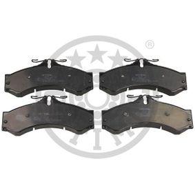 Bremsbelagsatz, Scheibenbremse Breite: 72,8mm, Dicke/Stärke: 20mm mit OEM-Nummer 0004217391
