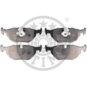 Bremsbelagsatz, Scheibenbremse Breite: 45mm, Dicke/Stärke: 17,3mm mit OEM-Nummer 34216761281