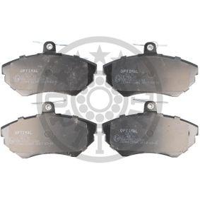 Bremsbelagsatz, Scheibenbremse Breite: 69,5mm, Dicke/Stärke: 16,3mm mit OEM-Nummer 1HM 698 151A