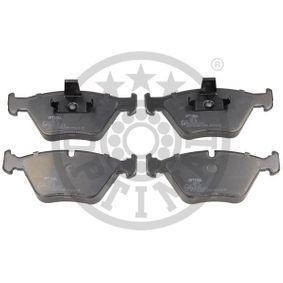 Bremsbelagsatz, Scheibenbremse Breite: 63,5mm, Dicke/Stärke: 20,3mm mit OEM-Nummer 34112157588
