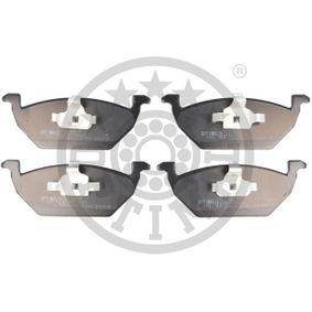 Bremsbelagsatz, Scheibenbremse Breite: 54,7mm, Dicke/Stärke: 18,5mm mit OEM-Nummer 1S0-698-151-A