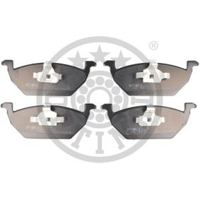 Bremsbelagsatz, Scheibenbremse Breite: 54,7mm, Dicke/Stärke: 18,5mm mit OEM-Nummer 1S0698151A