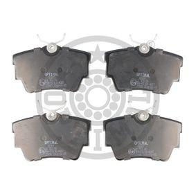 Bremsbelagsatz, Scheibenbremse Breite: 57,3mm, Dicke/Stärke: 16mm mit OEM-Nummer 7D0.698.451