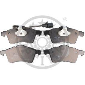 Bremsbelagsatz, Scheibenbremse Breite: 68,5mm, Dicke/Stärke: 19,6mm mit OEM-Nummer 7D0698151F