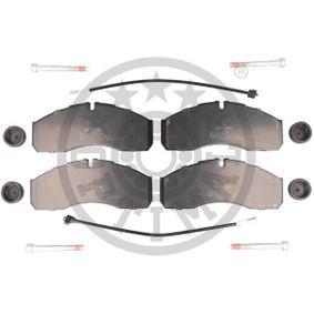 Bremsbelagsatz, Scheibenbremse Breite: 67,8mm, Dicke/Stärke: 20mm mit OEM-Nummer 50 0184 4748