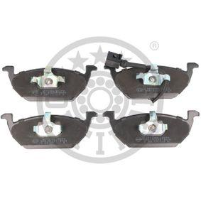 Bremsbelagsatz, Scheibenbremse Breite: 54,7mm, Dicke/Stärke: 19,6mm mit OEM-Nummer JZW698151