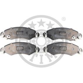 Bremsbelagsatz, Scheibenbremse Breite: 44,1mm, Dicke/Stärke: 15,9mm mit OEM-Nummer 47 04 578