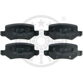 Brake Pad Set, disc brake BP-12119 A-Class (W169) A 170 1.7 (169.032, 169.332) MY 2010