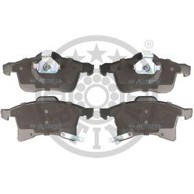 Bremsbelagsatz, Scheibenbremse Breite 2: 76,1mm, Breite: 69,7mm, Dicke/Stärke: 19,2mm mit OEM-Nummer 16 05 996