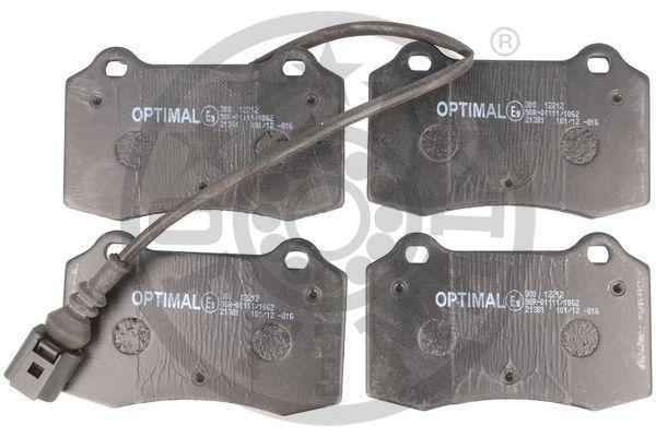 Bremsbeläge BP-12212 OPTIMAL 24143 in Original Qualität