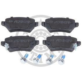 Bremsbelagsatz, Scheibenbremse Breite: 42,5mm, Dicke/Stärke: 14,7mm mit OEM-Nummer 93176118
