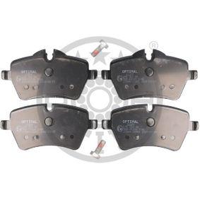 Bremsbelagsatz, Scheibenbremse Breite 1: 71,4mm, Breite: 64mm, Dicke/Stärke: 17,9mm mit OEM-Nummer 3411 6 778 320
