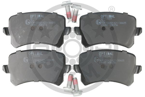 Bremsbeläge BP-12334 OPTIMAL 24483 in Original Qualität
