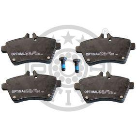 Bremsbelagsatz, Scheibenbremse Breite: 63,8mm, Dicke/Stärke: 19mm mit OEM-Nummer 169 420 02 20