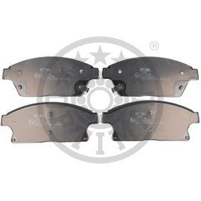 Bremsbelagsatz, Scheibenbremse Breite: 61,2mm, Dicke/Stärke: 18,8mm mit OEM-Nummer 542115