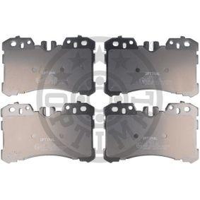 Bremsbelagsatz, Scheibenbremse Breite: 87,7mm, Dicke/Stärke: 18,3mm mit OEM-Nummer 04465-0W110
