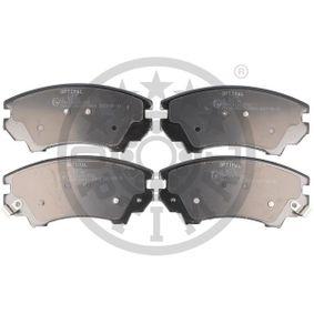 Bremsbelagsatz, Scheibenbremse Breite: 66,6mm, Dicke/Stärke: 17,8mm mit OEM-Nummer 95520061