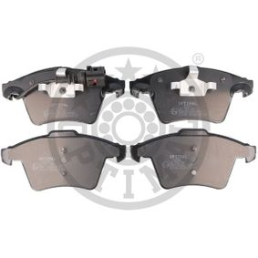Brake Pad Set, disc brake Width 1: 155mm, Width 2 [mm]: 156,2mm, Height 1: 73,3mm, Height 2: 74,8mm, Thickness: 19,6mm with OEM Number 7L6 698 151 F